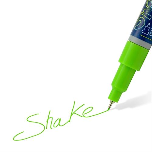 Shake tusch extra fine 0,7mm lime