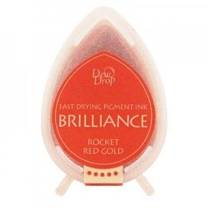 Brilliance Dew Drop Rocket Red Gold