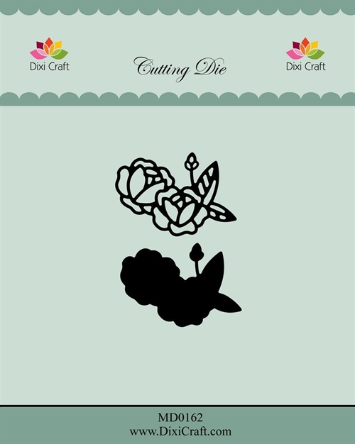 Dixi Craft die Roses with Outcline-1 4,1x2,9cm