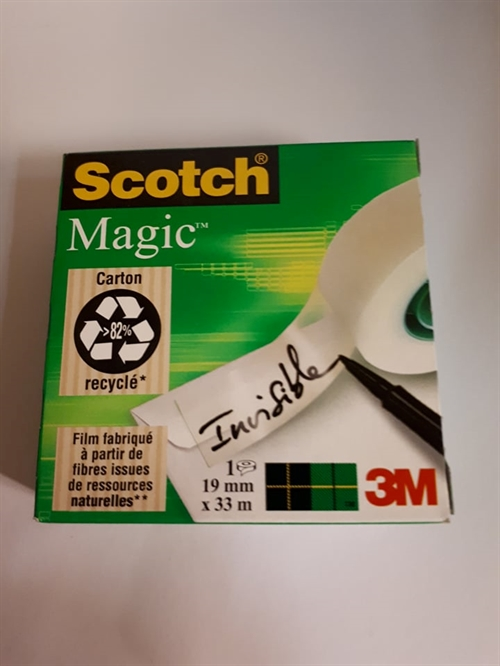 Scotch Magic Tape/ Englehud  19 mm 33 m