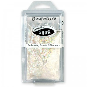 Stampendous spoonful of snow