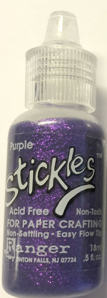 Stickles glitterlim Purple 18 ml